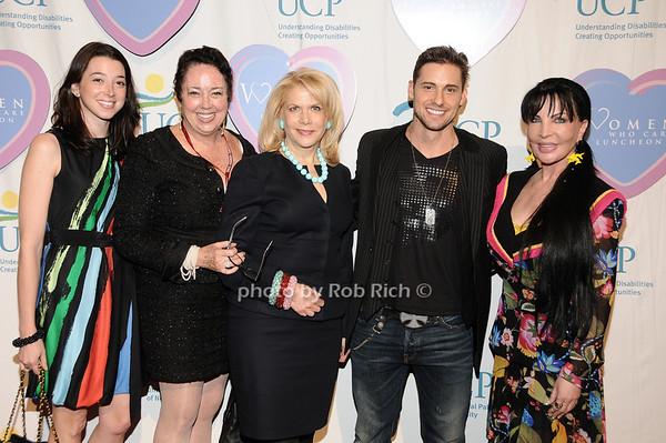 guests, Francine Lefrak, Timothy Mandala, Loreen Arbus<br /> photo by Rob Rich © 2010 516-676-3939 robwayne1@aol.com