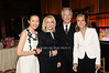 Ann Curry, Francine Lefrak, Alan Rickman, Meredith Vieira<br /> photo by Rob Rich © 2010 516-676-3939 robwayne1@aol.com