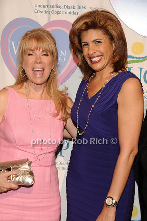 Kathy Lee Gifford, Hoda Kotb<br />  photo by Rob Rich © 2010 516-676-3939 robwayne1@aol.com