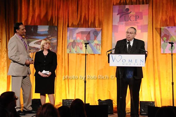 Jimmy Smits, Anita Geresi, Gary Geresi<br /> photo by Rob Rich © 2010 516-676-3939 robwayne1@aol.com