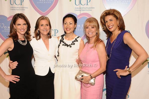 Natalie Morales, Meredith Vieira, Ann Curry, Kathie Lee Gifford, Hoda Kotb<br /> photo by Rob Rich © 2010 516-676-3939 robwayne1@aol.com