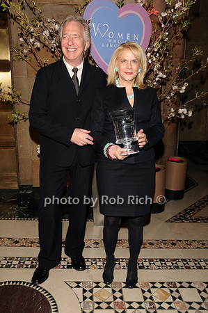 Alan Rickman, Francine Lefrak<br /> photo by Rob Rich © 2010 516-676-3939 robwayne1@aol.com