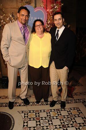 Jimmy Smits, Carol Marshall, James Grant<br /> photo by Rob Rich © 2010 516-676-3939 robwayne1@aol.com