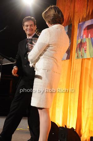 Dr. Mehmet Oz, Dr.Pamela Gallin<br /> photo by Rob Rich © 2010 516-676-3939 robwayne1@aol.com
