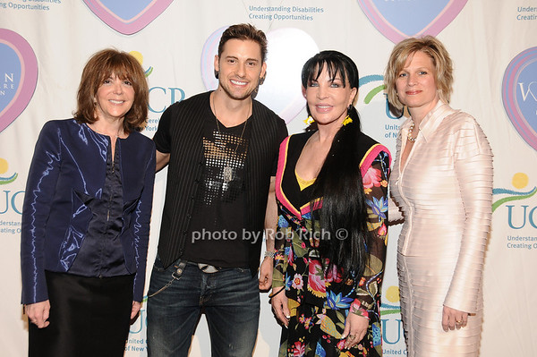 Linda Kaplan Thaler, Timothy Mandala, Loreen Arbus, JoanAnn Natola<br /> photo by Rob Rich © 2010 516-676-3939 robwayne1@aol.com