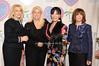 Francine Lefrak, Rita Cosby, Loreen Arbus, Linda Kaplan Thaler<br /> photo by Rob Rich © 2010 516-676-3939 robwayne1@aol.com