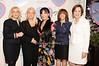 Francine Lefrak, Rita Cosby, Loreen Arbus, Linda Kaplan Thaler, Pamela Gallin<br /> photo by Rob Rich © 2010 516-676-3939 robwayne1@aol.com