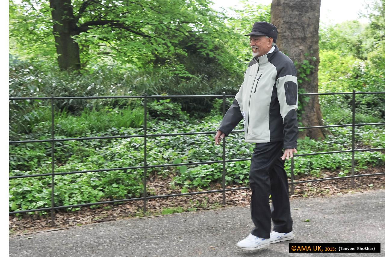 The oldest walker! Aged over 75!