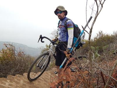 2016 06-09 LCF trail maint on Laguna Ridge