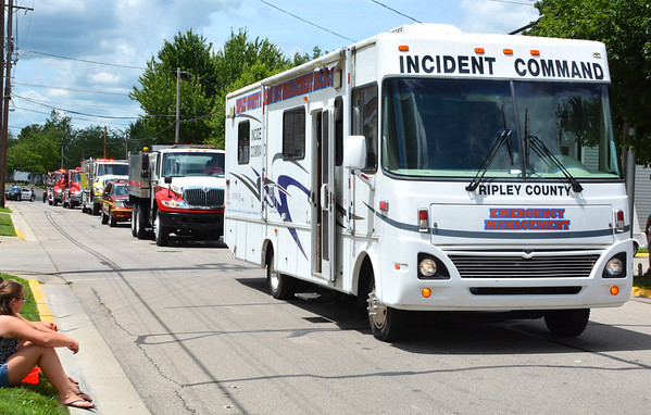 Debbie Blank | The Herald-Tribune<br /> If there ever is a terrorist attack, devastating illness or large accident, the incident command vehicle is ready to respond.