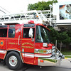 Debbie Blank | The Herald-Tribune<br /> Ladder 47 was just one of several Batesville Fire and Rescue Department vehicles taking part.