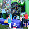 Christopher Aune | The Herald-Tribune<br /> One cute critter exits the fun house as two others scramble in.