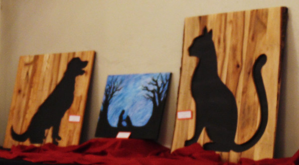 Debbie Blank | The Herald-Tribune Many handcrafted and donated items for the live and silent auctions.