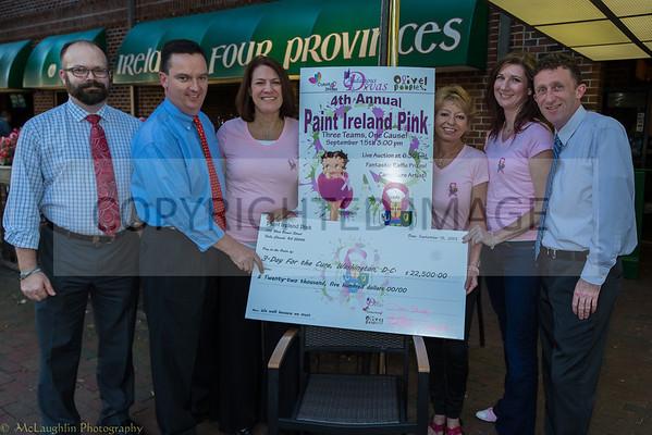 Audacious Divas' Paint Ireland Pink Charity Event