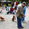 Debbie Blank | The Herald-Tribune<br /> About 150 individuals and families registered for Liberty Bark Walk 2014 to contribute to building a permanent dog park at Batesville's largest park.
