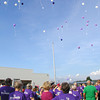 Diane Raver | The Herald-Tribune<br /> AFTER THE SURVIVORS completed the opening lap at the Ripley County Relay for Life, they let their balloons fly.