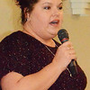 "Debbie Blank | The Herald-Tribune<br /> Kari Ann Rennekamp, Margaret Mary's Cancer Center patient support service coordinator, said fundraiser proceeds totalling about $13,500 will be used to help local citizens with tight finances with fuel assistance, nutritional supplements, new medications and meal vouchers -- whatever they need. ""I can't tell you how emotionally that impacts the patients"" to know the community cares about them."