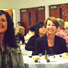 Debbie Blank | The Herald-Tribune<br /> After the 280 attendees listened to a few speeches, the afternoon included 10 varieties of soups donated by local restaurants, Ertel Cellars Winery tastings, wineglass painting, bidding on silent auction and Chinese raffle items, door prizes -- and much table hopping and chatting.