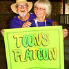Debbie Blank | The Herald-Tribune<br /> Dan and Bev Toon, Guilford, brought many friends to the walk.