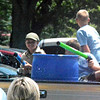 Will Fehlinger | The Herald-Tribune<br /> Members of Boy Scouts of America's Troop 634 have a time with water guns as Saturday temperatures were pushing 90 degrees.