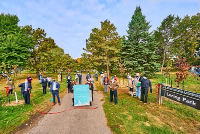 30   SGI Cherry Tree Dedication Loring Park MN  10-2-2020