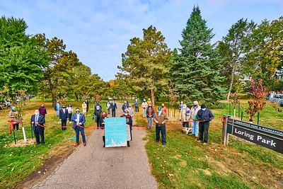 24   SGI Cherry Tree Dedication Loring Park MN  10-2-2020