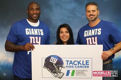 Giants Tackle Kids Cancer