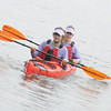 Steve and Jason in the Prijon Double, sea kayak, Richmond