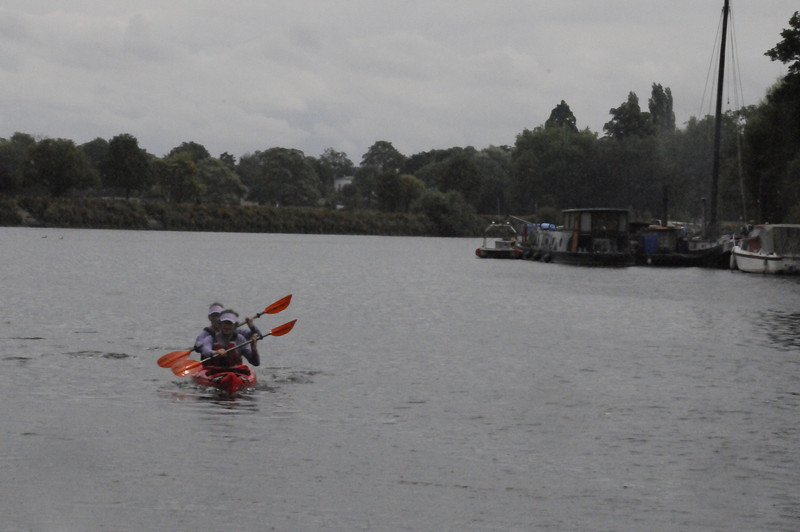 Jason and Steve Williams (olympic rower and double gold medallist finally facing the right way!) training in Richmond