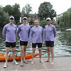 The boys looking ready for action, LtoR Steve, Graham, Steve, Jason