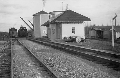 2021.009.PA.013--charles stats 3x4 print [US Army]--ARR--depot and water tank--Willow AK--c1951 0000