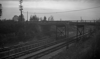 2021.009.4.002--charles stats 116 neg [Raymond Colombe]--CNS&M--view of right-of-way Green Bay Road bridge--Lake Bluff IL--c1938 0000