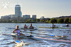 Boston Rowing Federation practice, with Gevvie, Josh, Austin, Andrew and Nick