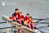 Harvard wore pink racing socks for Linda Muri