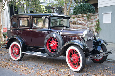 Antique Ford Sedan