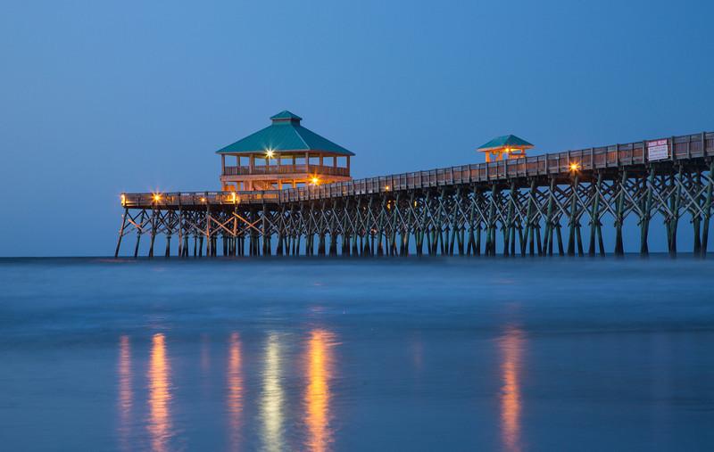 Sunrise at Folly Beach Pier