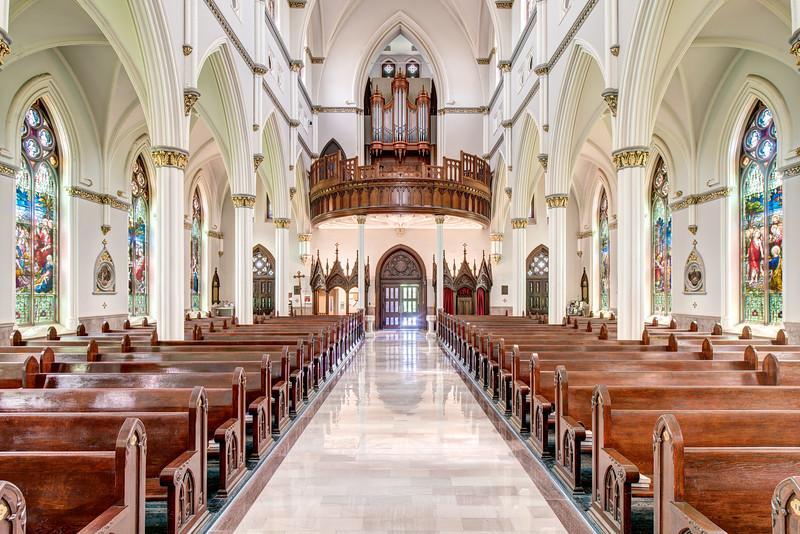 Cathedral Of St  John The Baptist Charleston SC-5