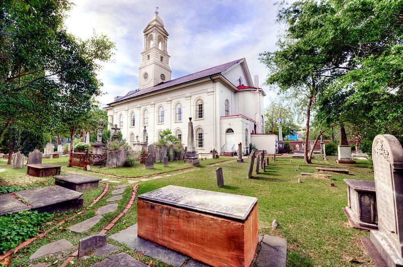 St John's Lutheran Church Outside Charleston SC