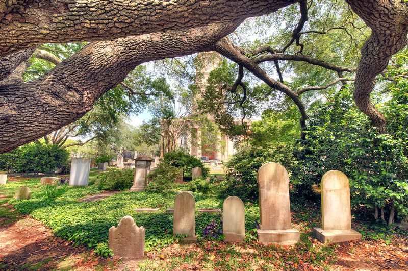 Photo of St. Philip's Episcopal Church in Charleston, SC