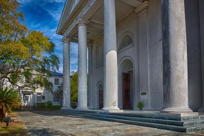 Charleston's churches, cemeteries & historic buildings