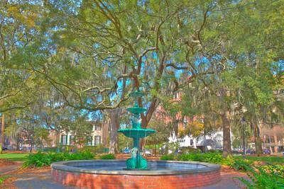 Savannah parks & gardens