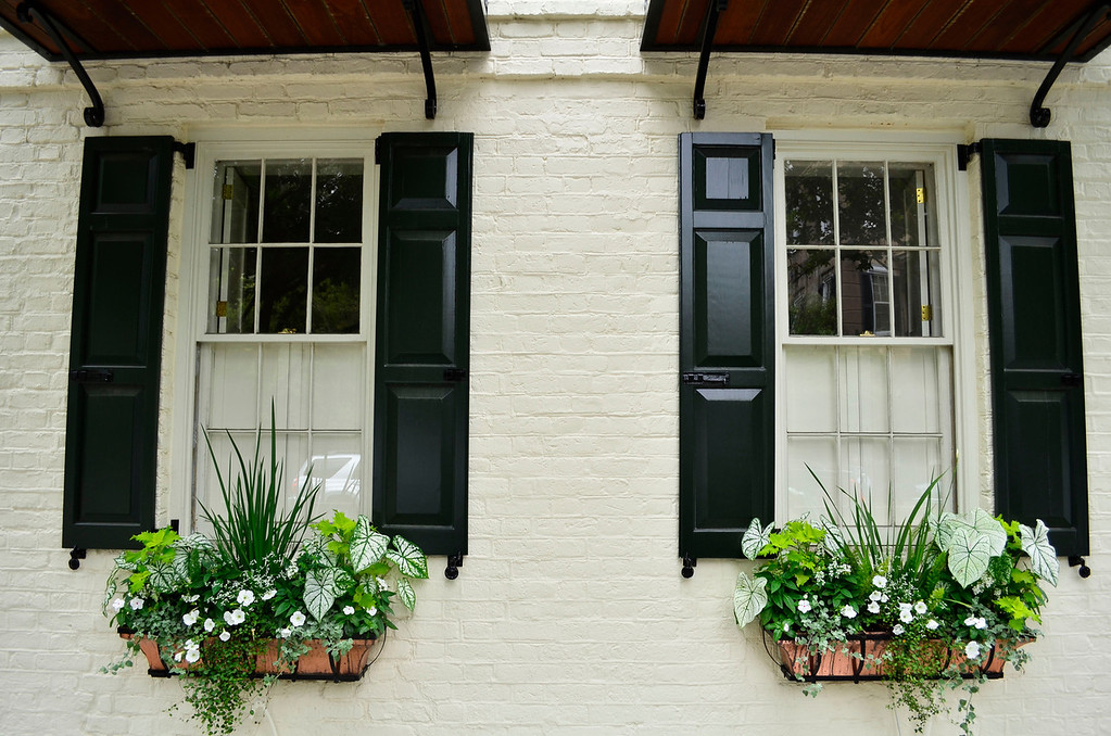 Pair of Window Boxes