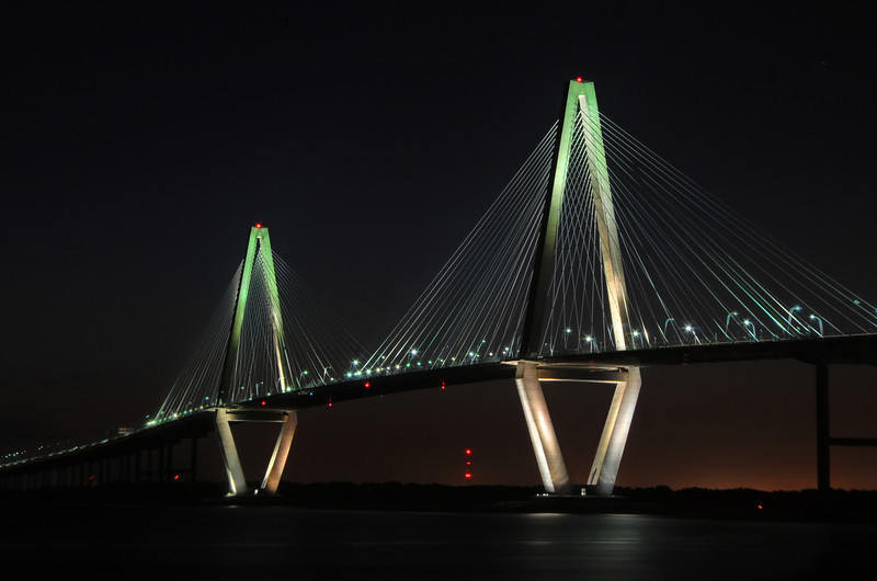 The bridge shot between 7 and 8pm.