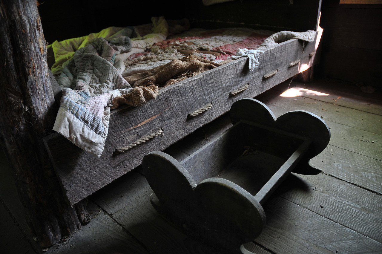 Shot in the slave quarters located at the Magnolia Plantation