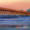 Sunset on Folly Beach Pier - Charleston, SC