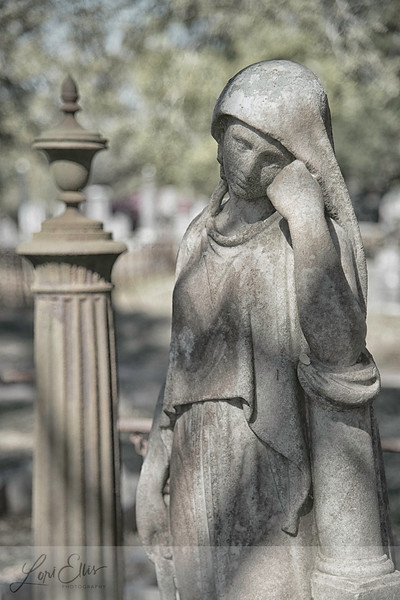 Cemetery Art in Charleston, SC