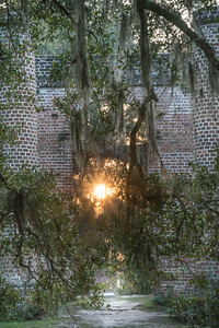 Old Sheldon Church sunrise