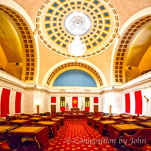 Charleston WV Capitol Senate Chamber