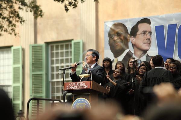 Stephen Colbert in Charleston