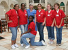 Joan with students from the first SCRUBS Health Career camp in 2007.